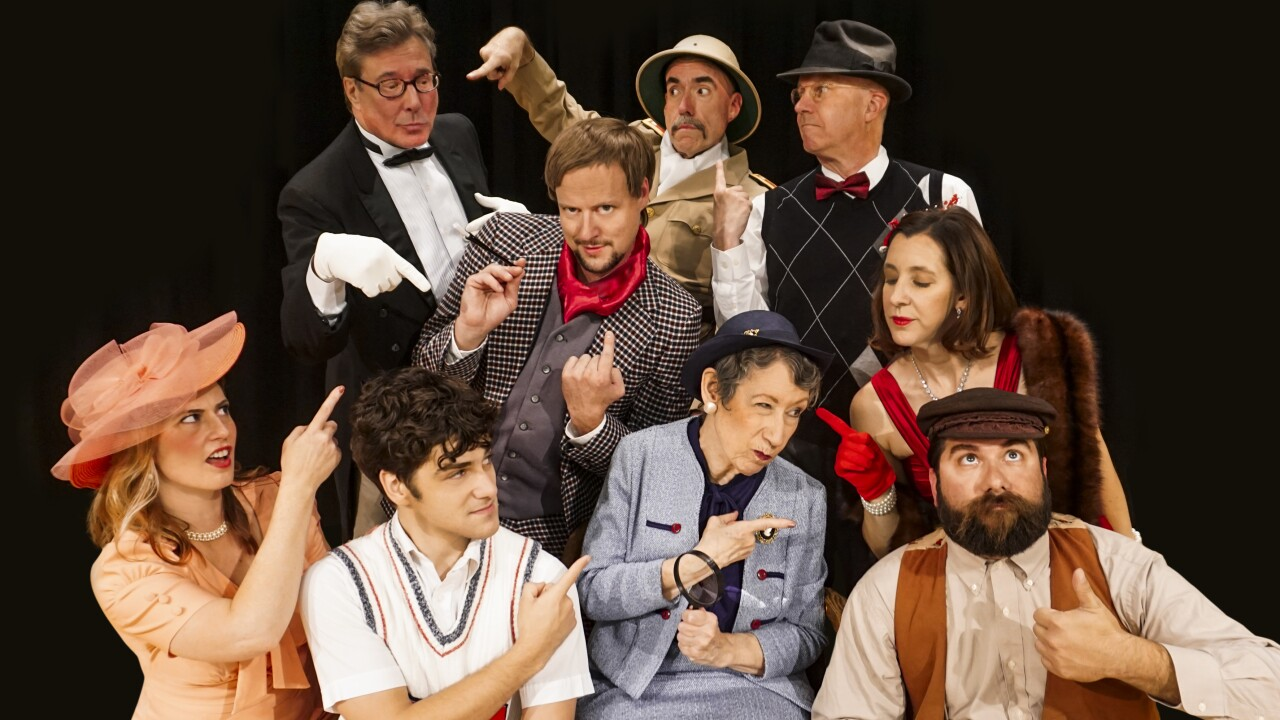 Zany murder mystery, musical comedy, Something's Afoot opens at Starlight Theatre