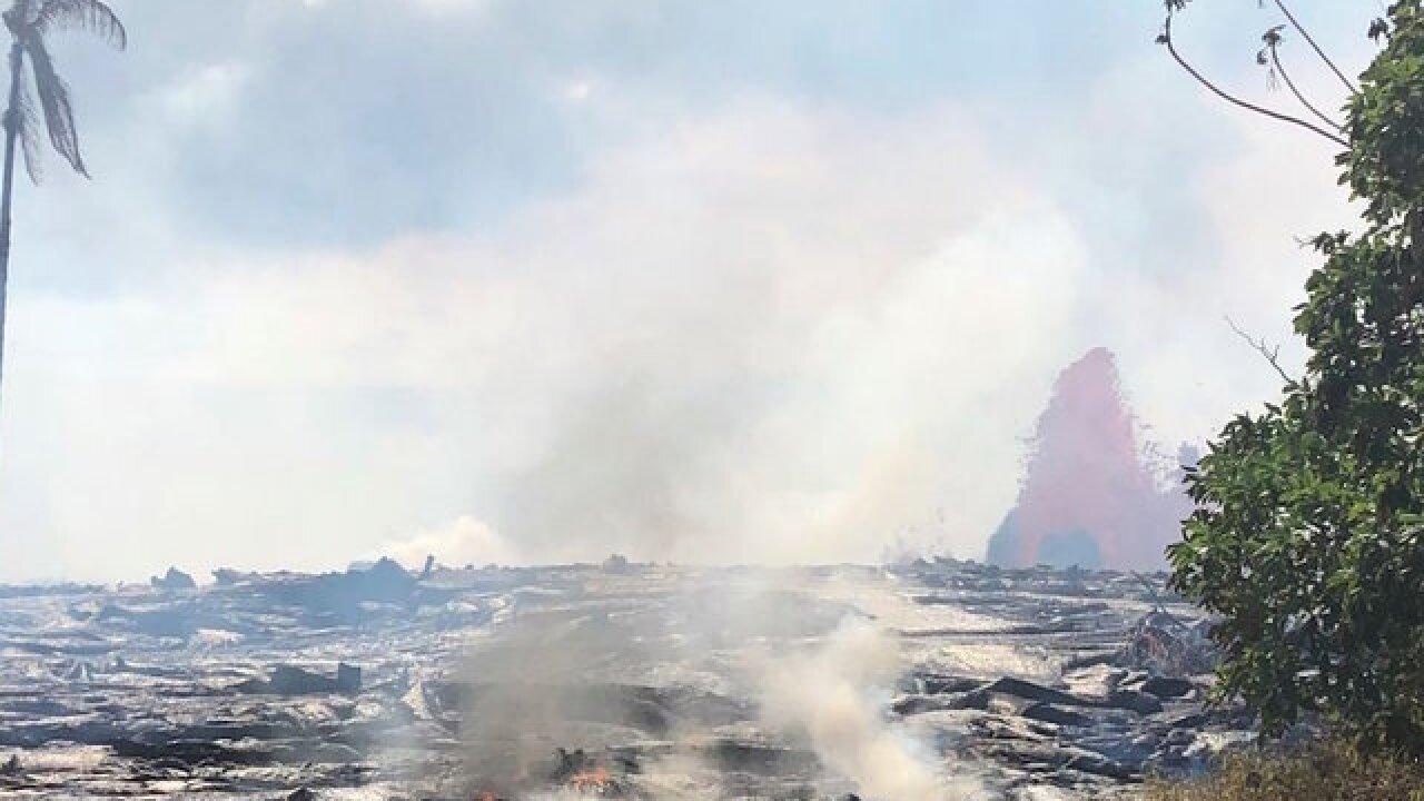 Fast-moving lava sparks immediate evacuations in Hawaii