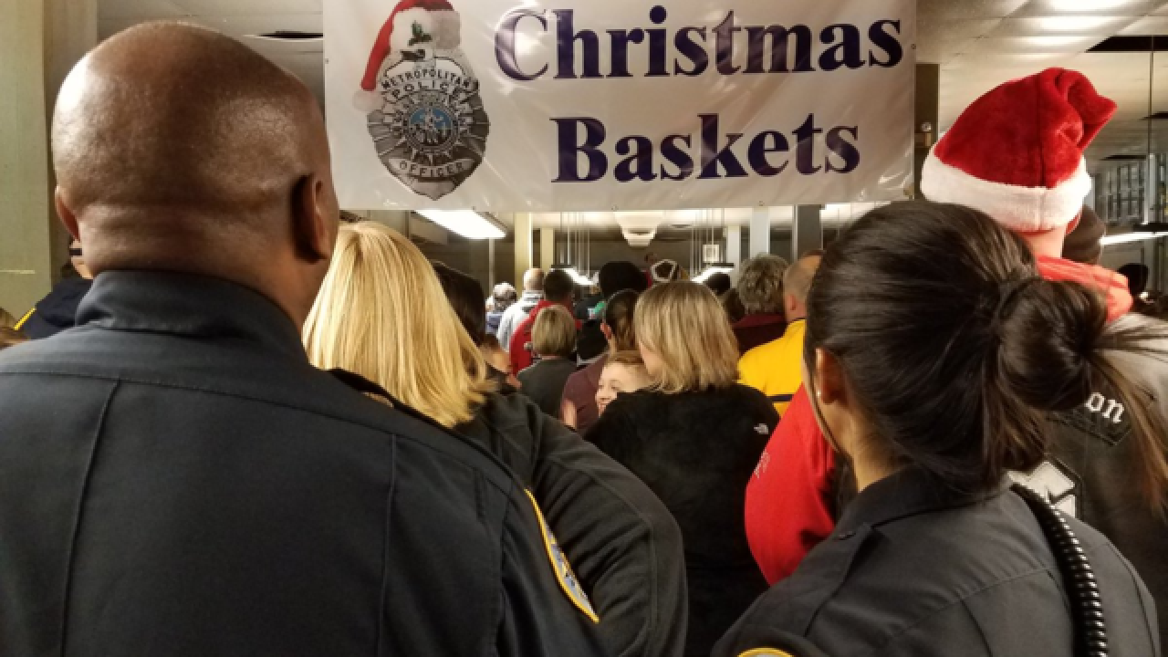 57th MNPD Christmas Basket Program Held