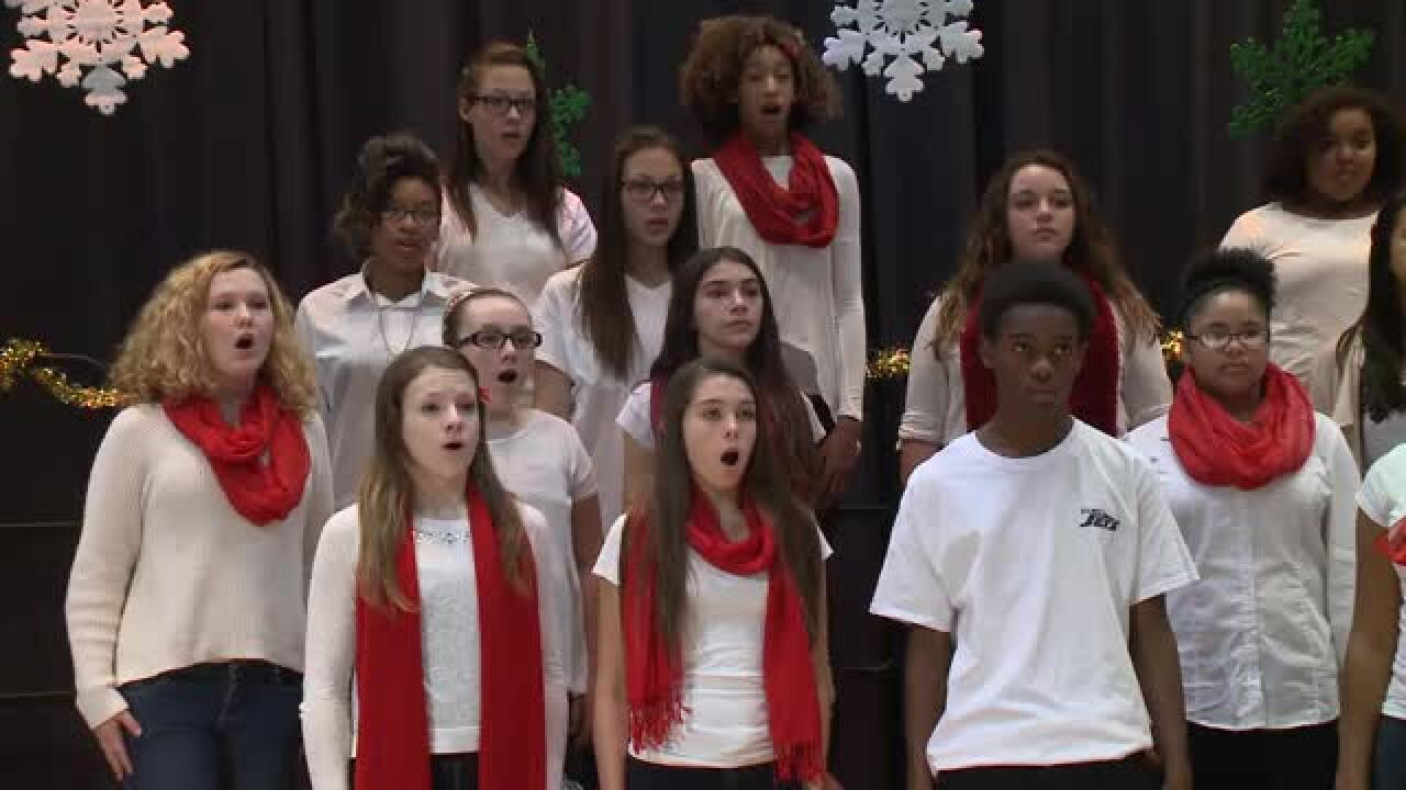 Corporate Landing Middle – 8th Grade Chorus