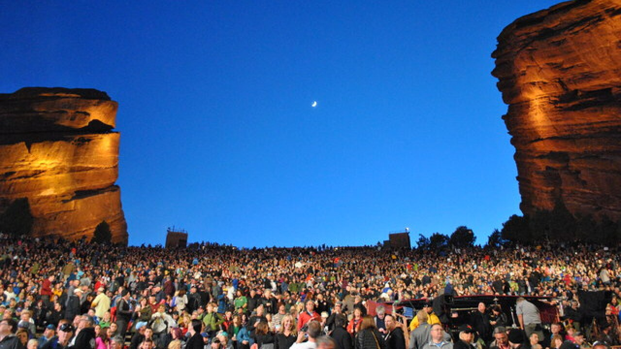 Denver Film Society Releases Movies To Be Shown At Red Rocks