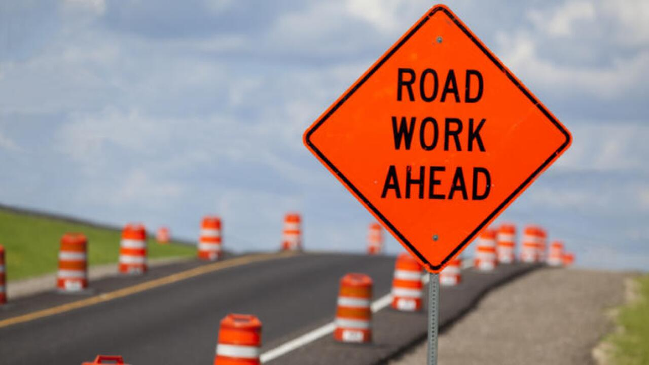 Expect road delays on I-90 between Billings and Hardin through first week of July