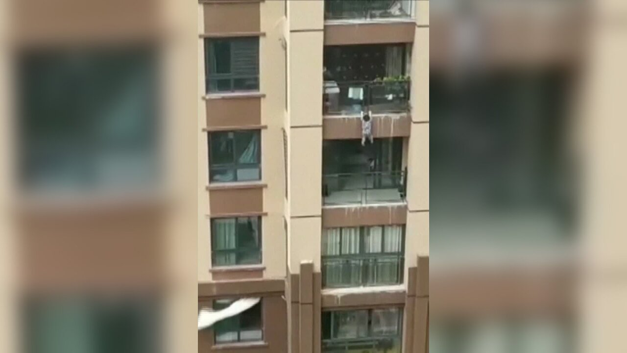 3-year-old boy saved by onlookers after falling 6 stories