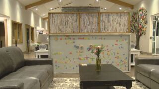 This is the lounge area at the new Ronald McDonald home in Colorado Springs.