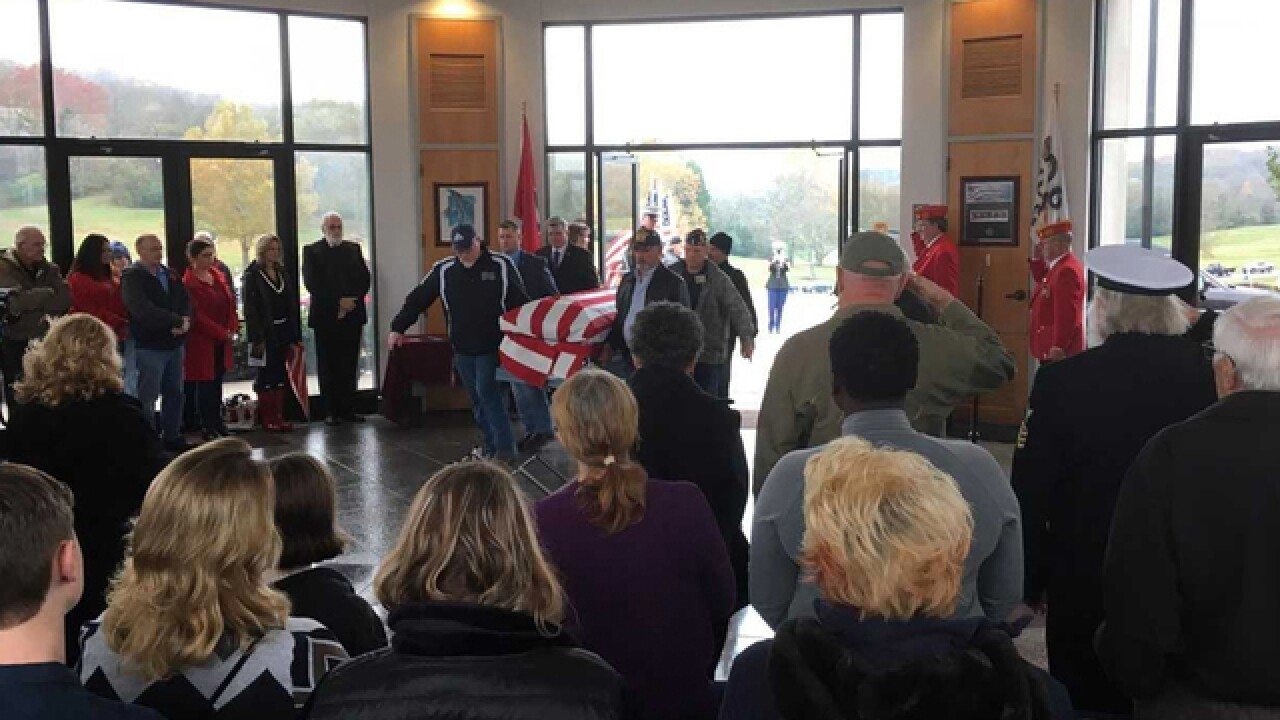 Veterans show up for vet who died with no family