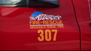 Woman rescued from Missoula house fire