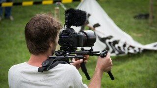Journalist DSLR Camera Journalism