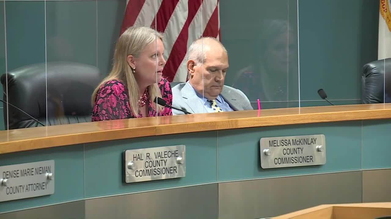 Palm Beach County Commissioner Melissa McKinlay explains vote on mask mandate