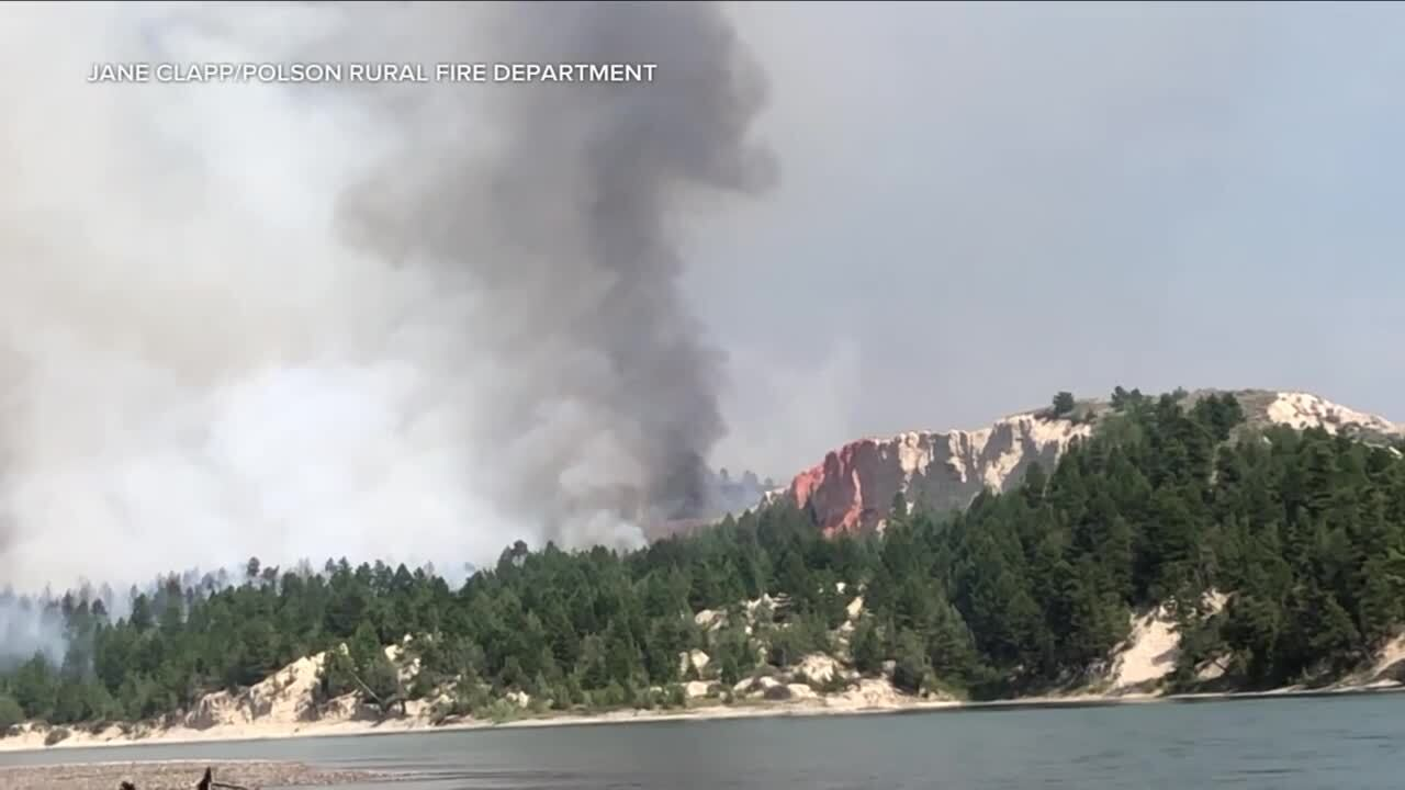 Horseshoe Fire burning 140 acres, 20% contained