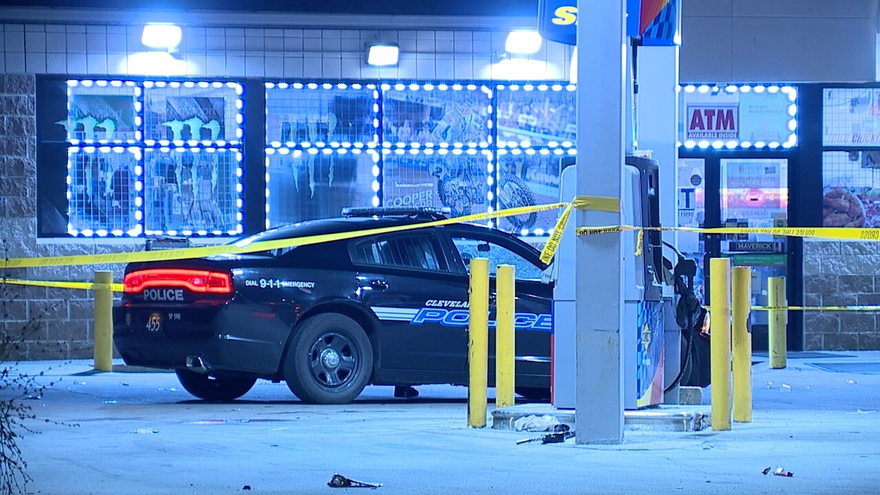 A woman dies in a shooting at gas station on East 131st Street.