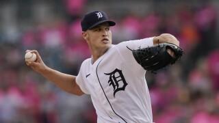 Matt Manning Rangers Tigers Baseball