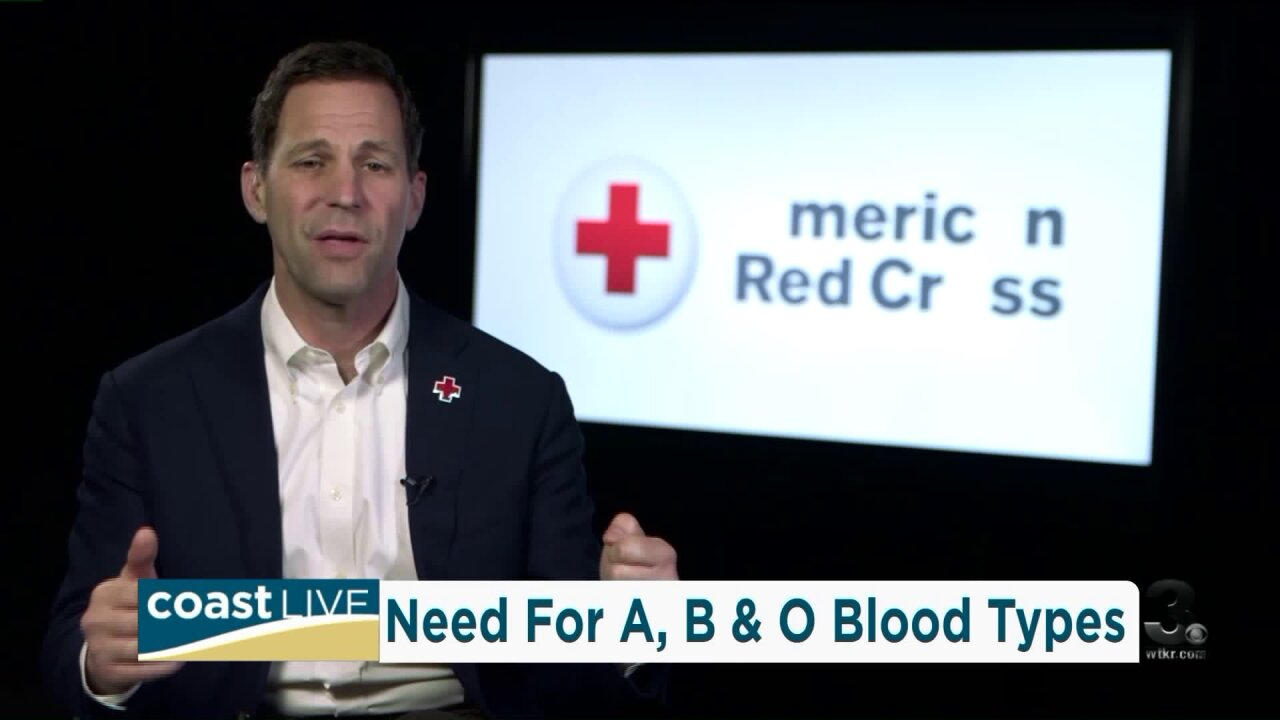 The campaign to fill the need for missing blood types on CoastLive