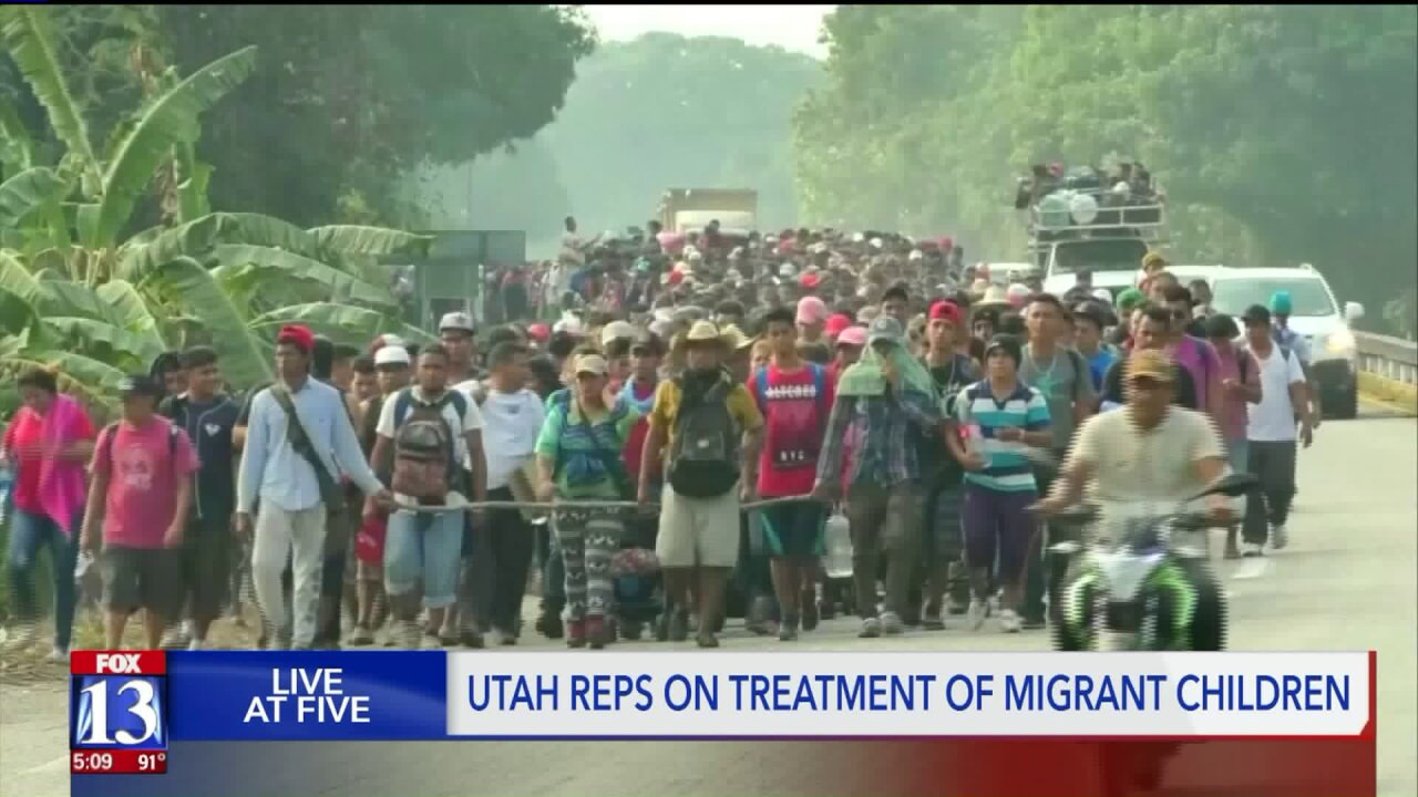 Utah representatives say similar things, vote differently on borderaid