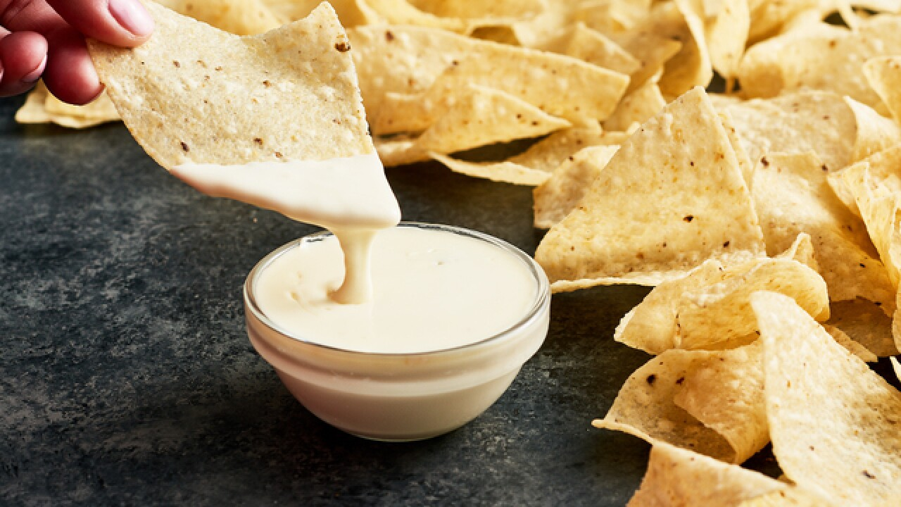 Image result for queso and chips