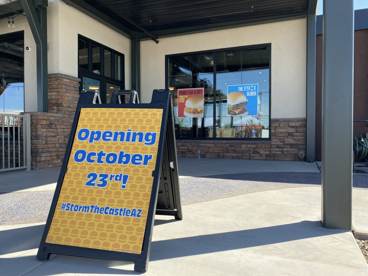 AZ White Castle location set to open