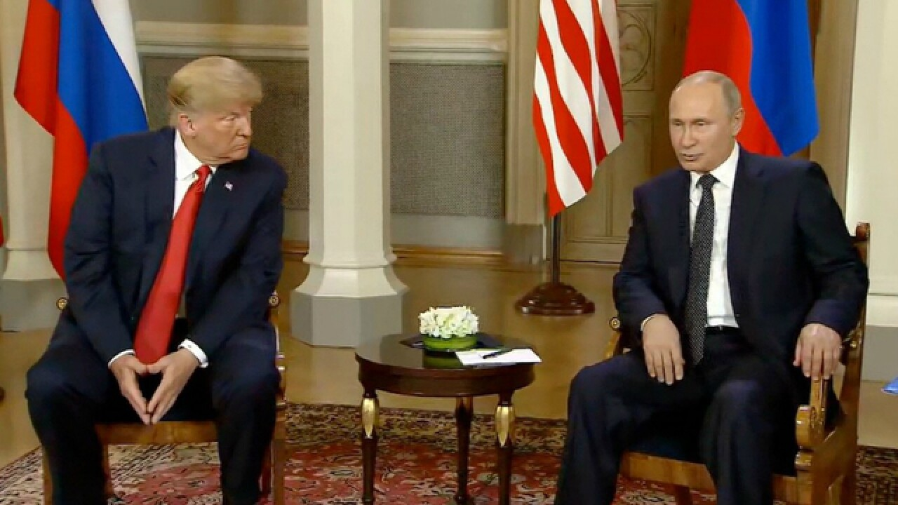 Trump, Putin meeting privately in Helsinki