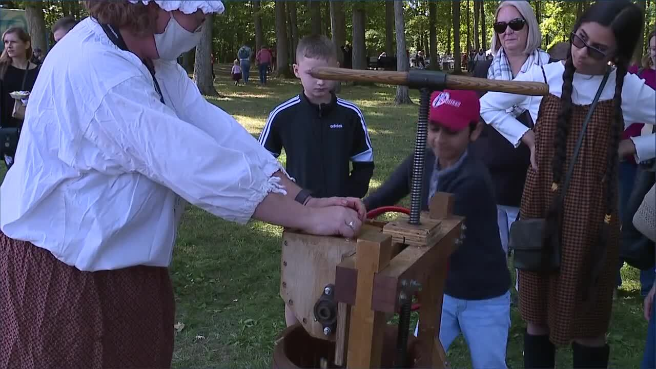 Cleveland Metroparks 18th Century festival