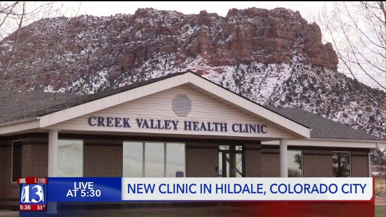 For the first time in over a decade, Hildale and Colorado City have a health care clinic