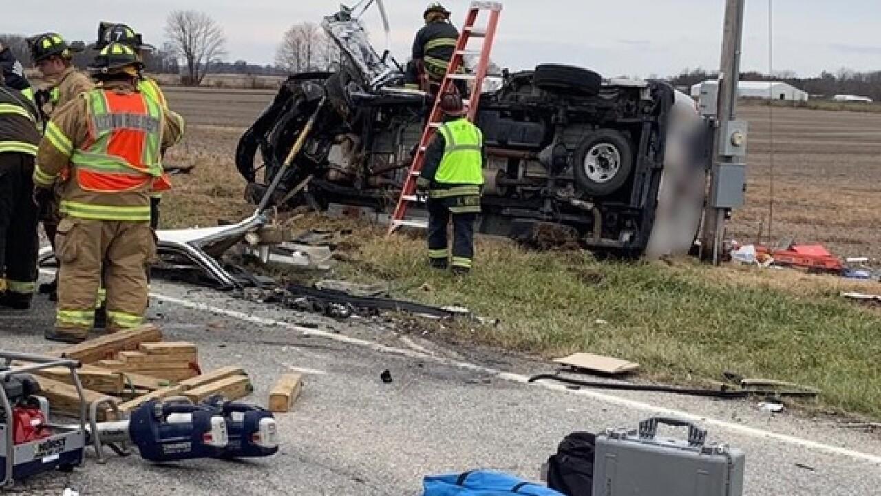 One dead, one injured in Hendricks County crash