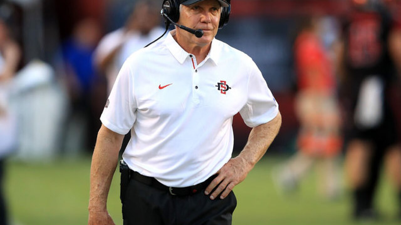 San Diego State signs football head coach Rocky Long to contract extension