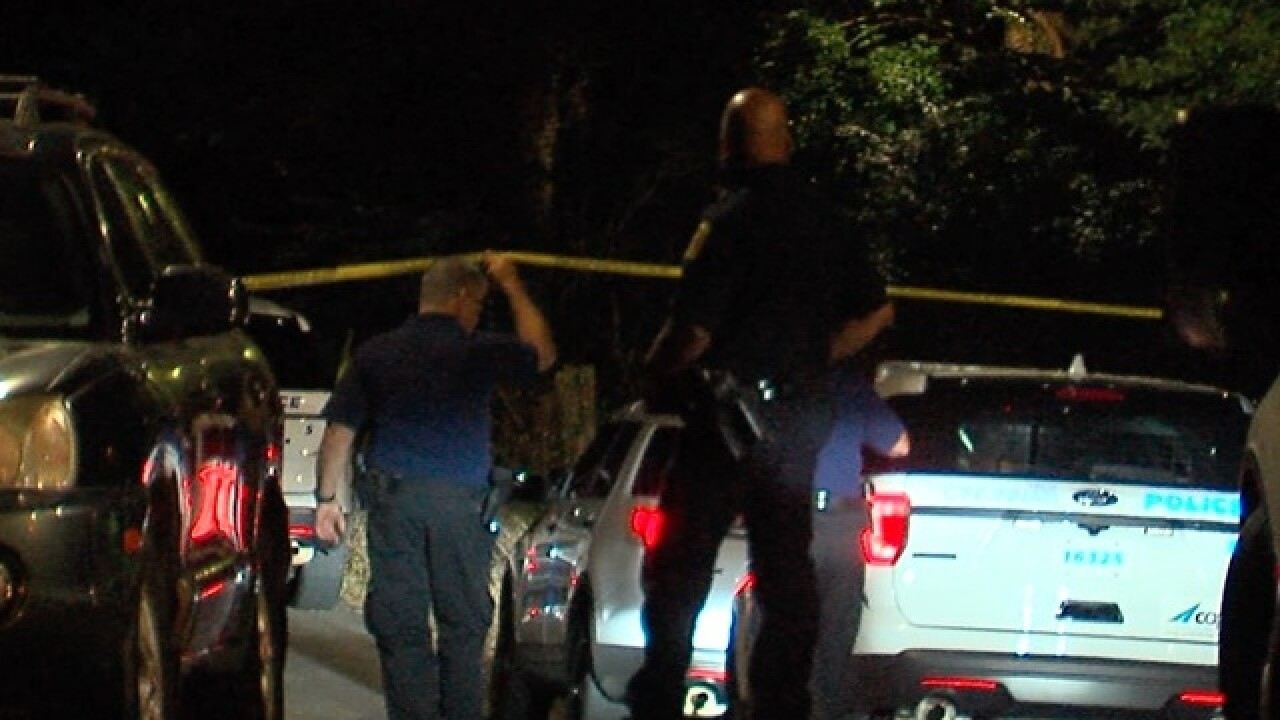 Police: Woman hit in leg when officer shot dog