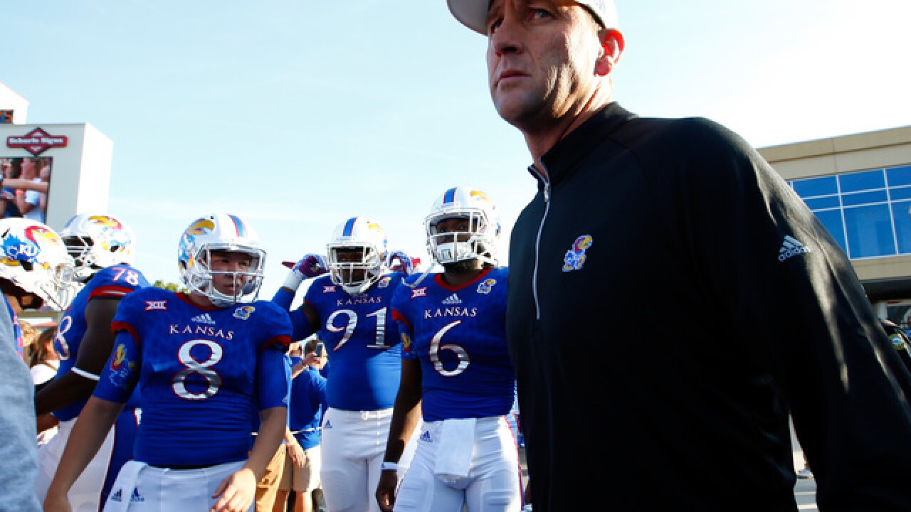 Jayhawks wrap up spring practice with fan showcase