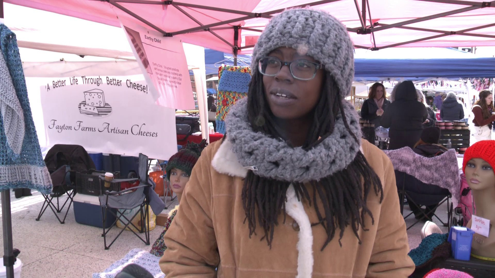Photos: Local vendors encourage shoppers to 'shop outside of the box' at NEON District's holidaymarket
