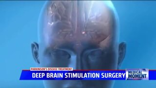 Medical Moment: Deep Brain Stimulation Surgery