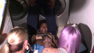 Baby girl was born by candlelight in laundry room as Texas tornado touched down