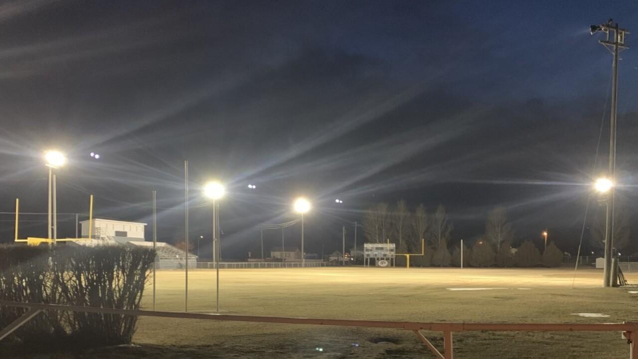 CJI football field
