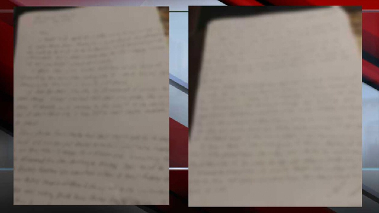 Exclusive: Letter claims Joe Clyde is alive