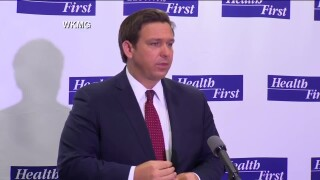 Gov. Ron DeSantis speaks in Apopka, July 23, 2020