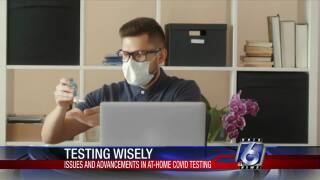 Experts warn of flaws with at-home testing mushrooming
