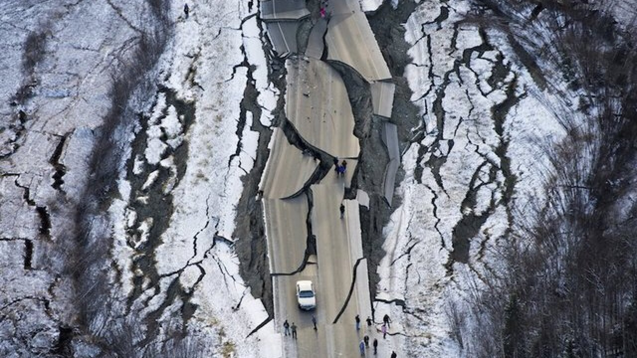 Alaska hit by more than 230 small earthquakes since Friday