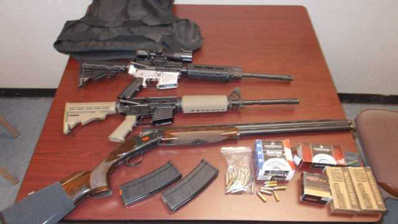 Man in Wasco arrested for illegal possession of assault rifles