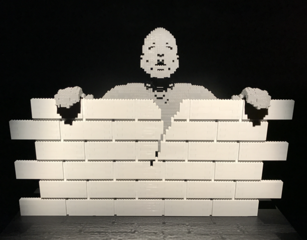 PHOTOS: World's largest LEGO art display comes to Tampa