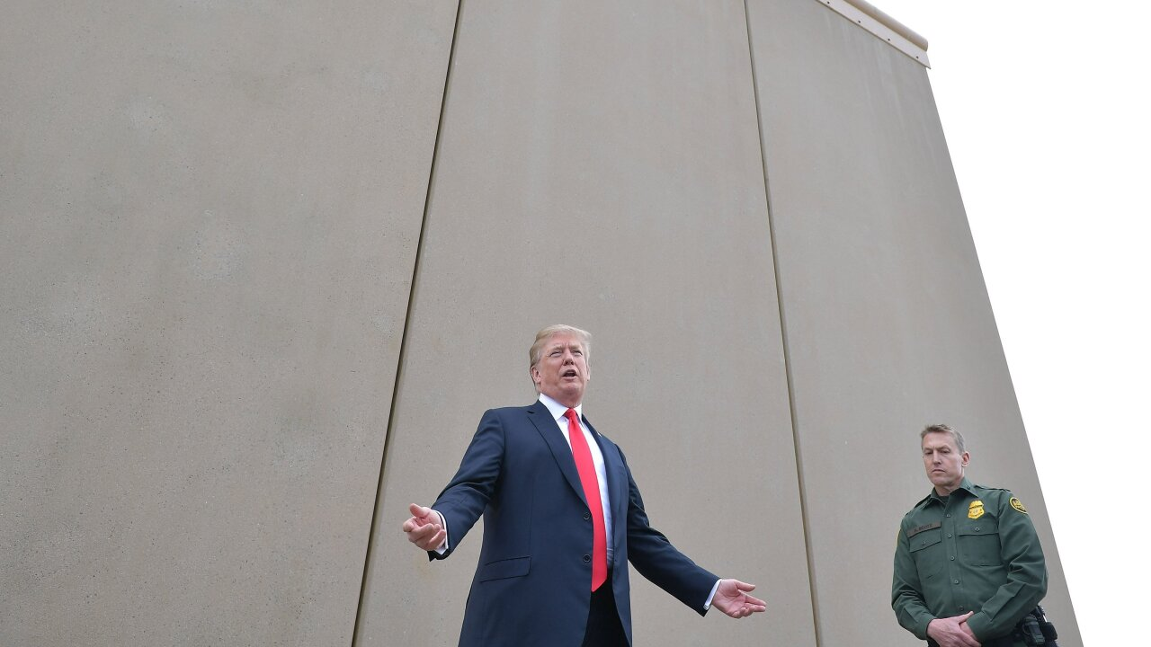 Supreme Court clears way for Trump admin to use Defense funds for border wall construction
