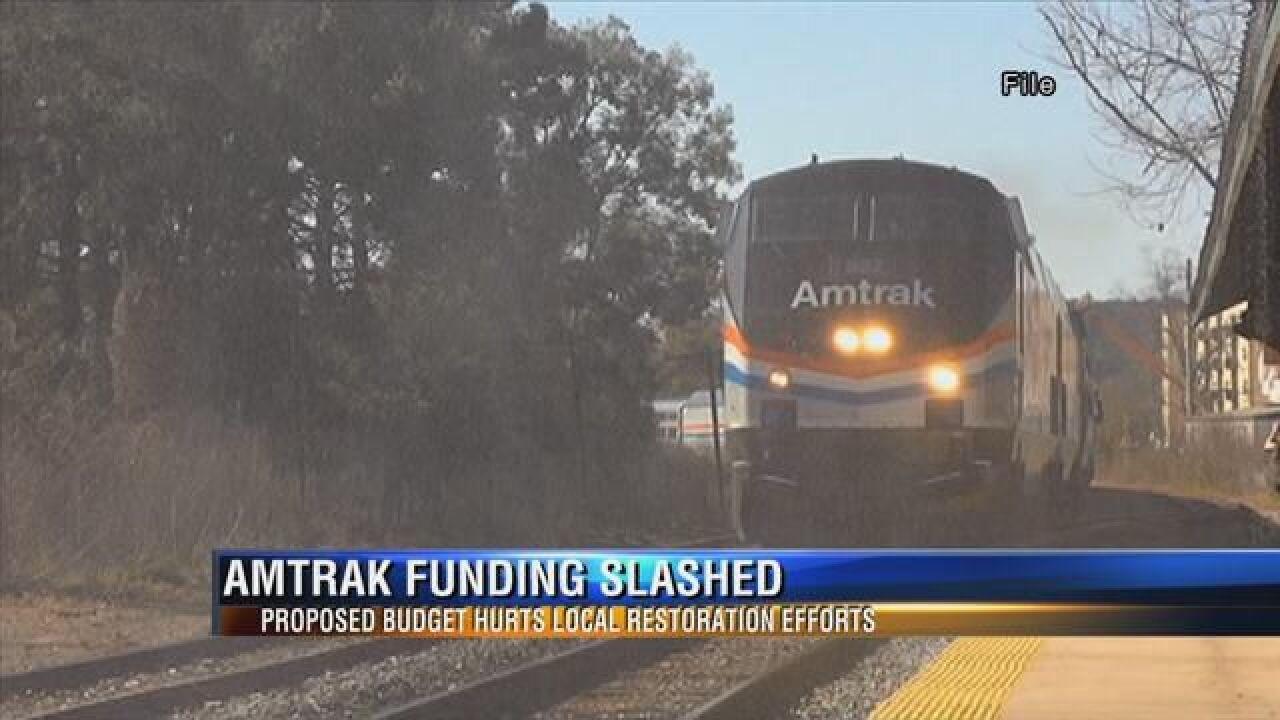 Amtrak Funding Cuts
