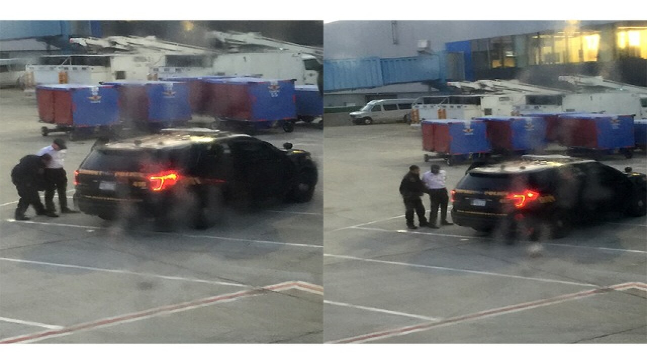 Pilot detained for allegedly being drunk at DTW