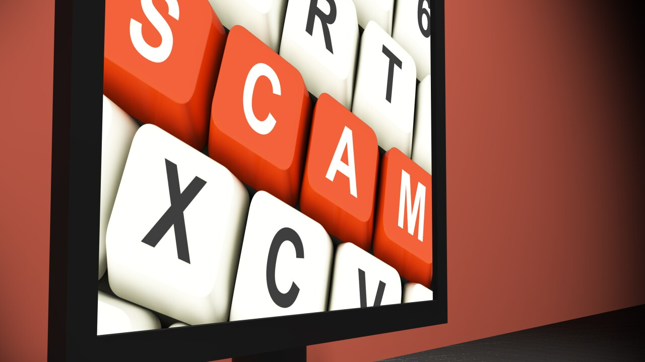 Scammers online