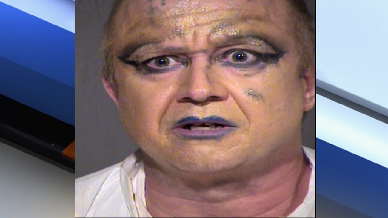 Police: Naked man arrested after walking around Tempe