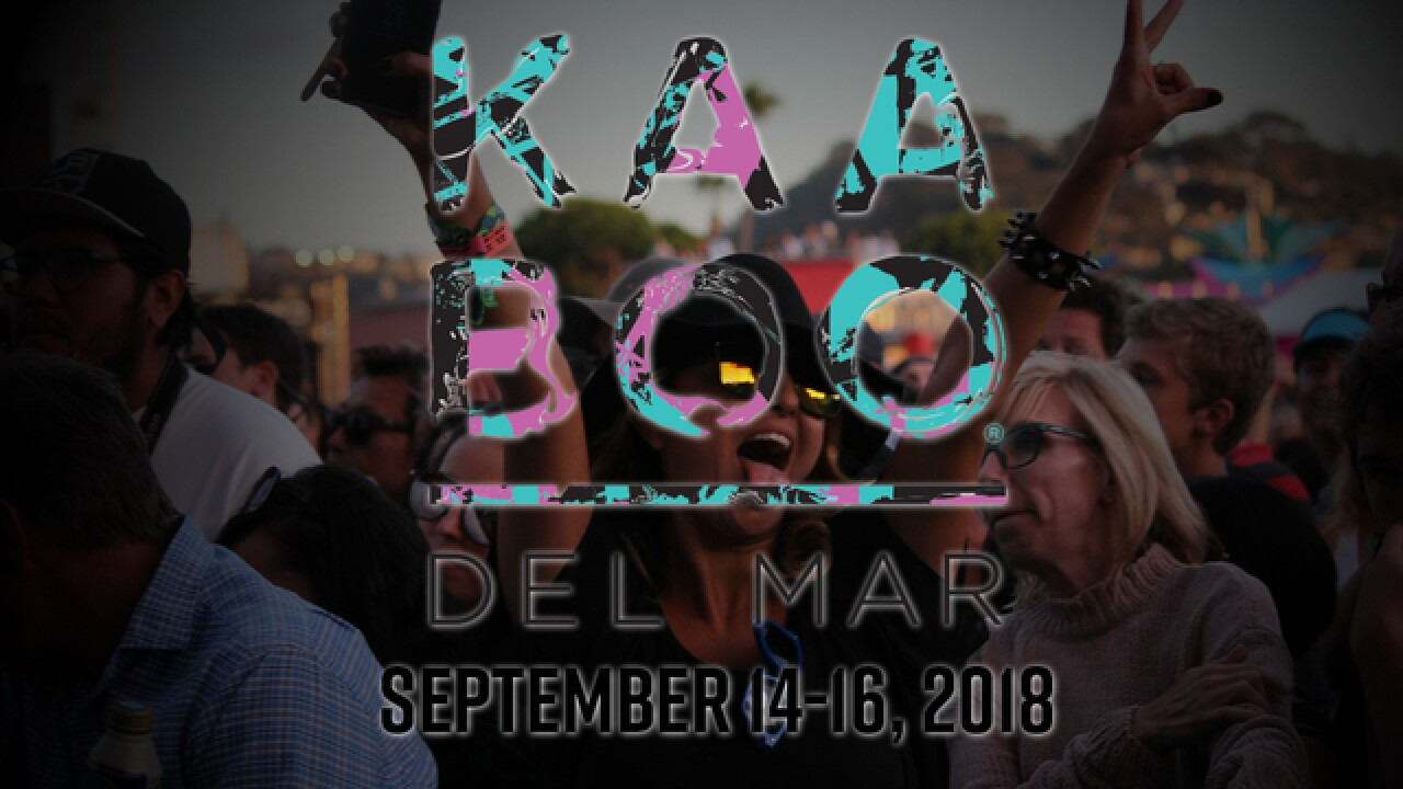 Katy Perry, Foo Fighters among big names on 2018 KAABOO Del Mar concert lineup