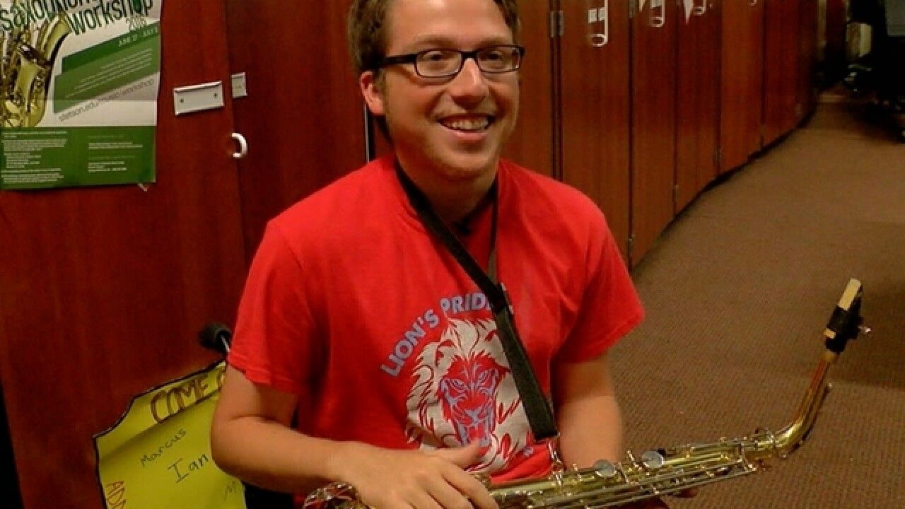 Student with disability inspires school band
