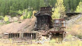 Evening Star Mine near Neihart