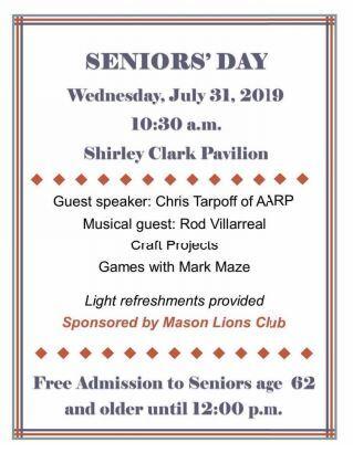 Senior's Day