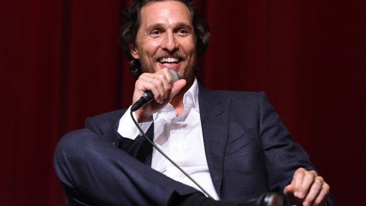 Matthew McConaughey gives UT students a ride home to ensure safety