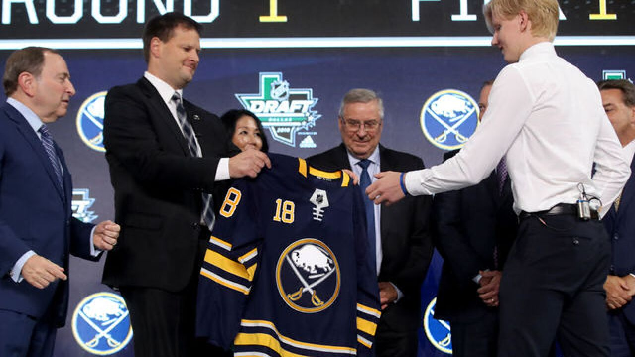 Sabres take five defensemen, one center in 2018 NHL Draft