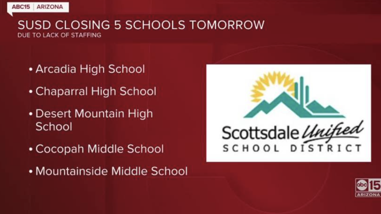 Scottsdale Unified closing five schools.png