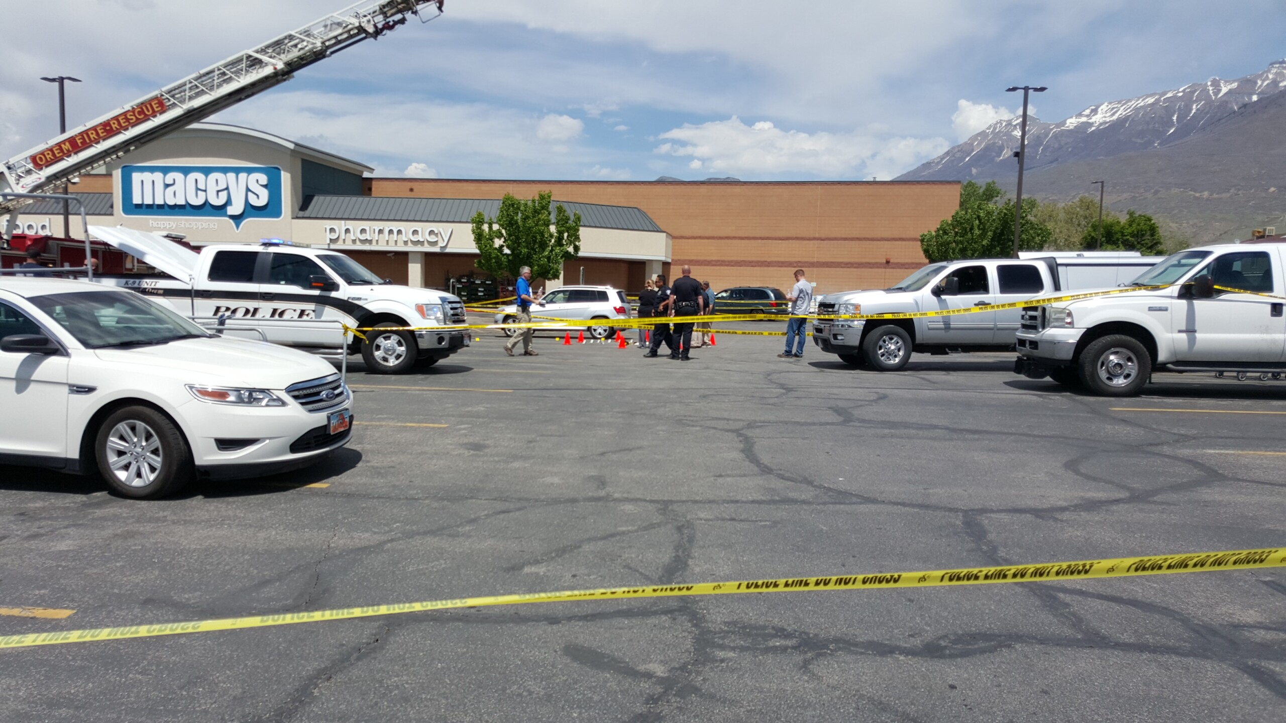 Photos: Suspect dead after man with concealed carry permit intervenes in alleged carjacking inOrem