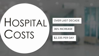 Average cost of hospital visit went up 36% over decade, data shows